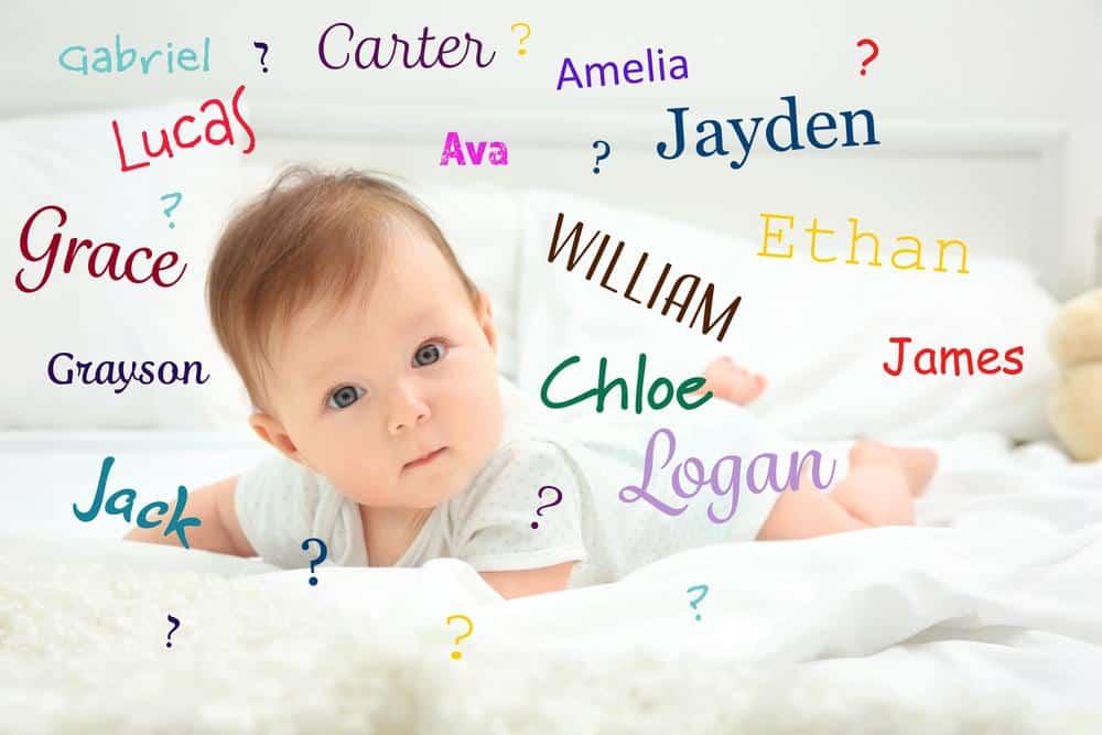 Nombres de moda para bebés