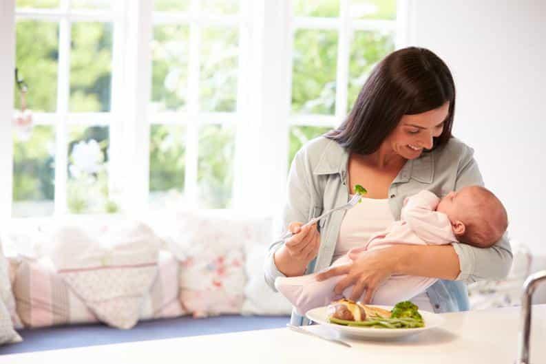 ¿Cómo adelgazar durante la lactancia?