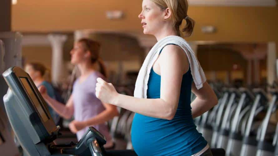 Ejercicios para mantenerse en forma en el embarazo