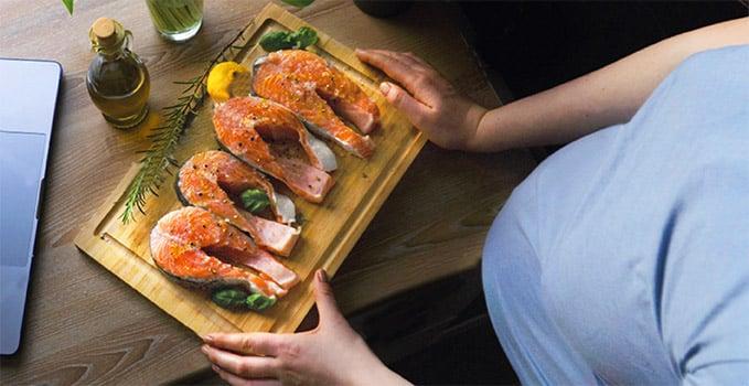 ¿Es bueno comer pescado en el embarazo?
