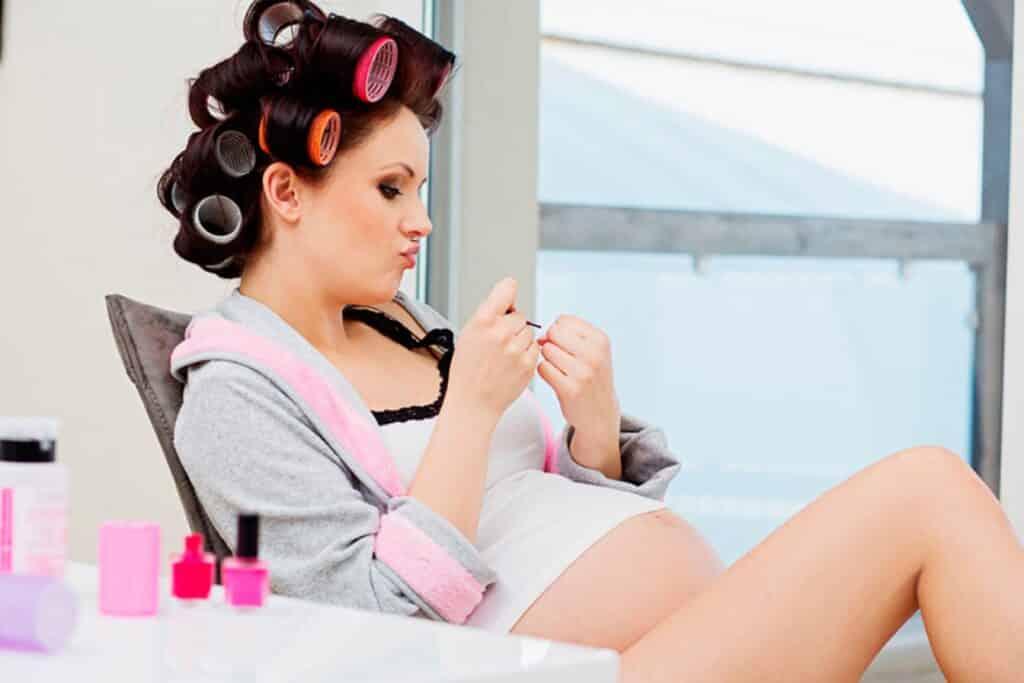 Peinados fáciles para embarazadas